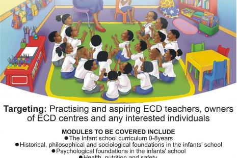 ZOU DEVELOPS ECD TEACHERS